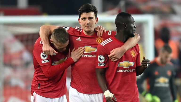 Bailly emerged as Solskjaer's first partner for Harry Maguire