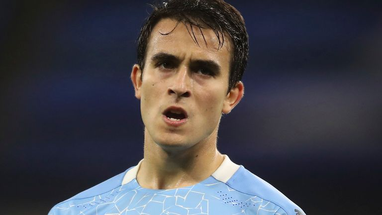 Manchester City's Eric Garcia has tested positive for coronavirus (AP Images)
