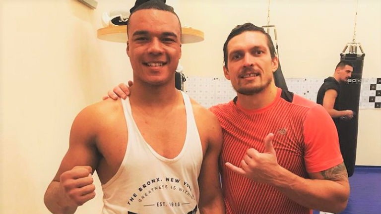 Oleksandr Usyk has also brought Wardley in for sparring sessions
