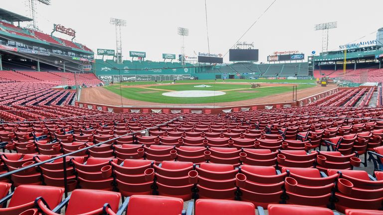 Fenway Park has been home to the Boston Red Sox since 1912