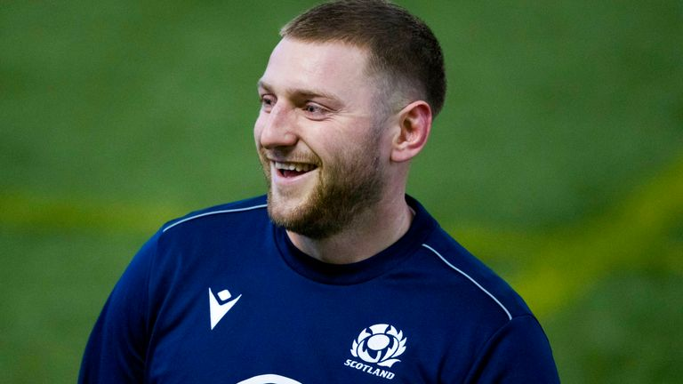Russell has scored 147 points in 51 Tests for Scotland