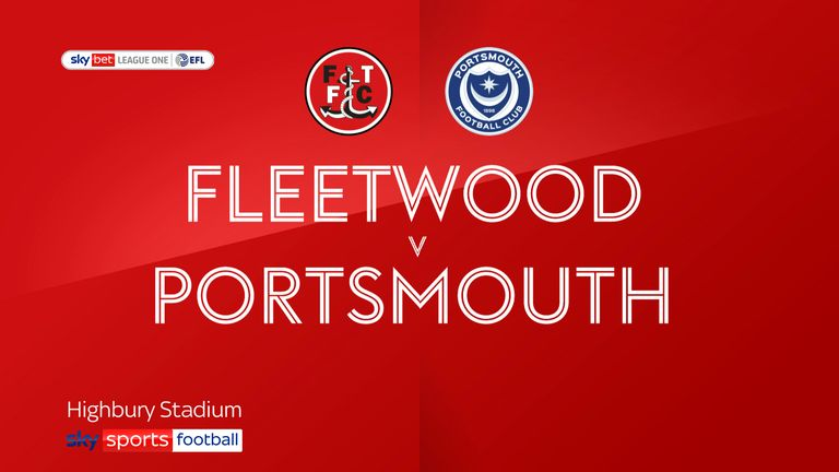 Fleetwood v Portsmouth
