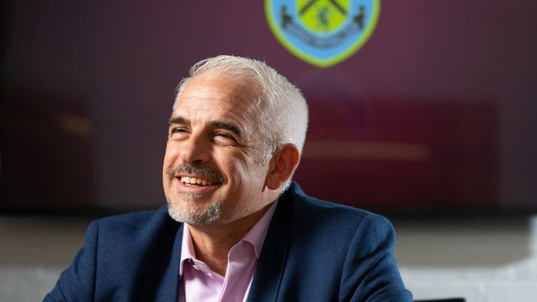 New Burnley Chairman Alan Pace
