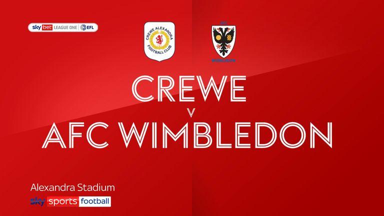 Crewe v AFC Wimbledon