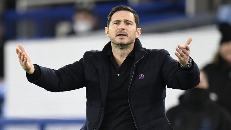 Frank Lampard has seen his Chelsea side win just once in their last five Premier League games