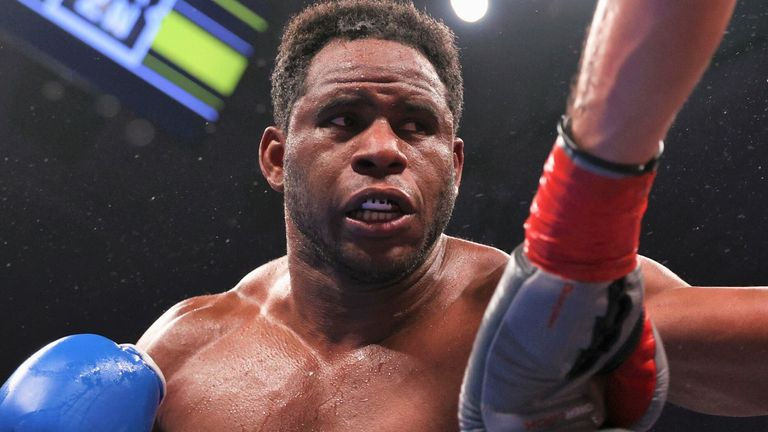 Frank Sanchez has moved swiftly towards a world heavyweight title fight
