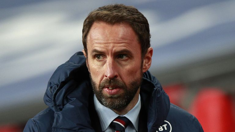 Gareth Southgate led England to the semi-finals of the 2018 World Cup in Russia