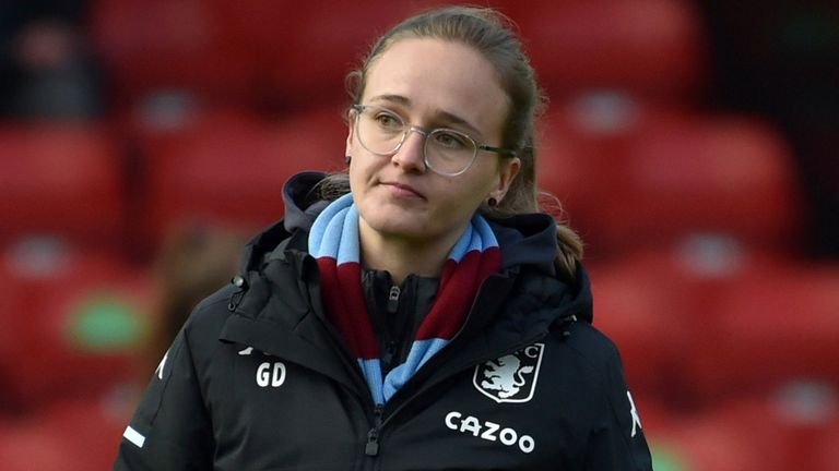 Gemma Davies remains Aston Villa Women's head coach