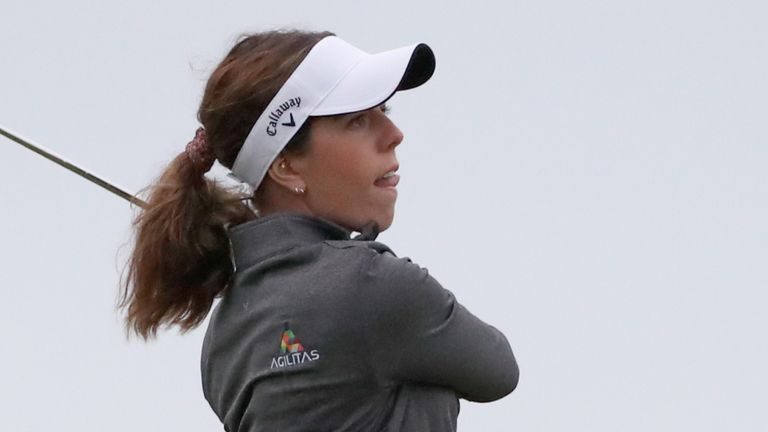 Georgia Hall is one of three English players in the field at the Diamond Resorts Tournament of Champions