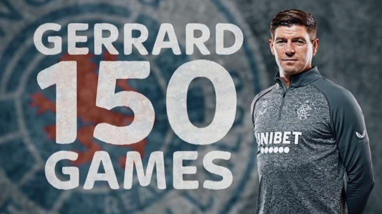 Steven Gerrard Rangers 150 feature image screenshot