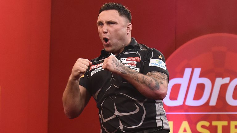 Gerwyn Price started his campaign with a resounding win