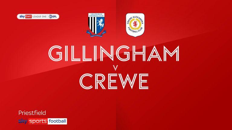 gillingham v crewe