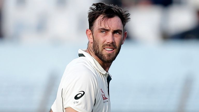 Glenn Maxwell last played Test cricket for Australia in 2017
