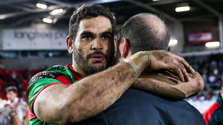 Warrington Wolves signing Greg Inglis discusses mental health and future ambitions with Sky Sports