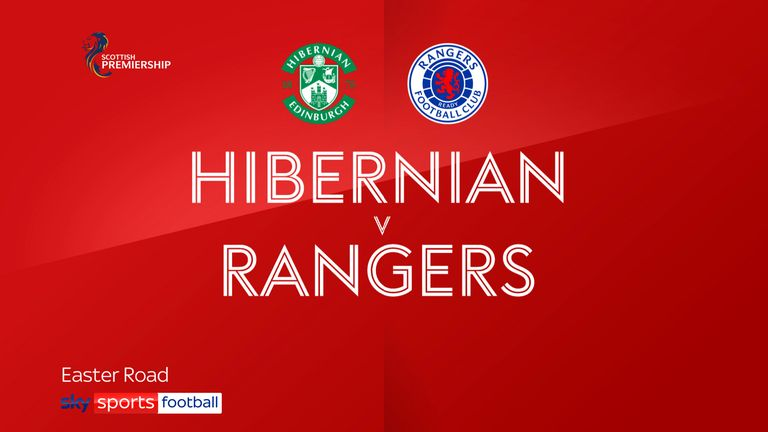 Hibs v Rangers