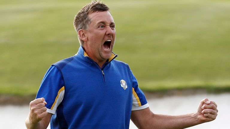 Poulter registered two points for Team Europe in 2018