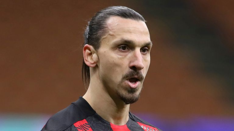 Zlatan Ibrahimovic posted an anti-racism message after the incident with Romelu Lukaku