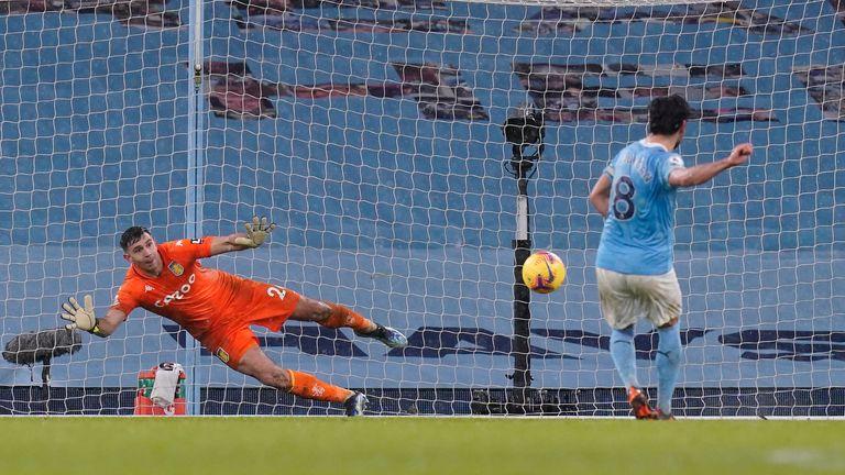 Ilkay Gundogan's seventh goal of the season sealed his most profitable club season