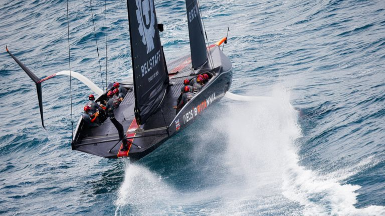 INEOS TEAM UK support the America's Cup organisers' position (Image Credit - COR 36 | Studio Borlenghi)