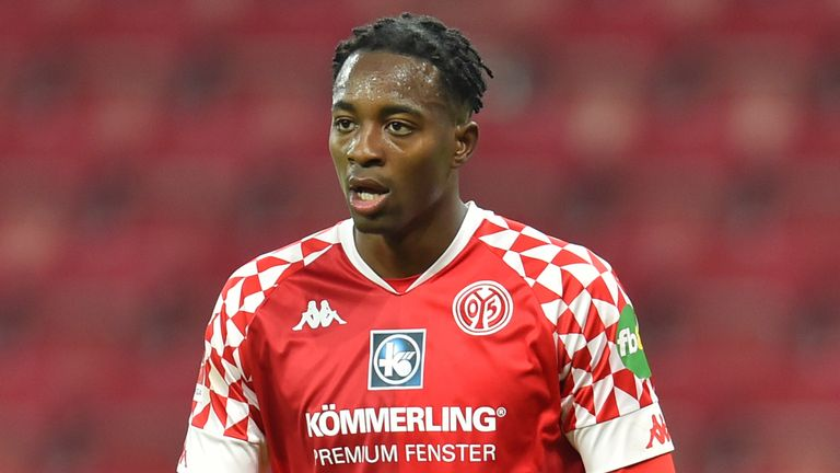 Mainz striker Jean-Phillipe Mateta is close to a loan deal at Crystal Palace