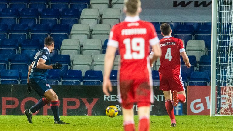 Jermaine Hylton wraps up Ross County's emphatic victory with a stoppage-time fourth against Aberdeen