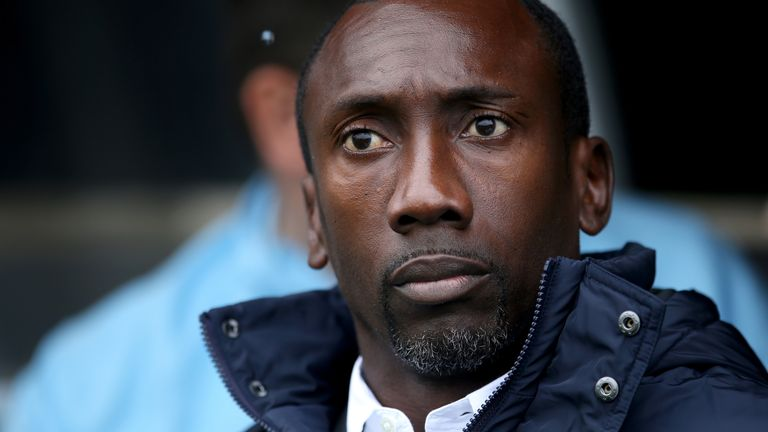 Queens Park Rangers manager Jimmy Floyd Hasselbaink