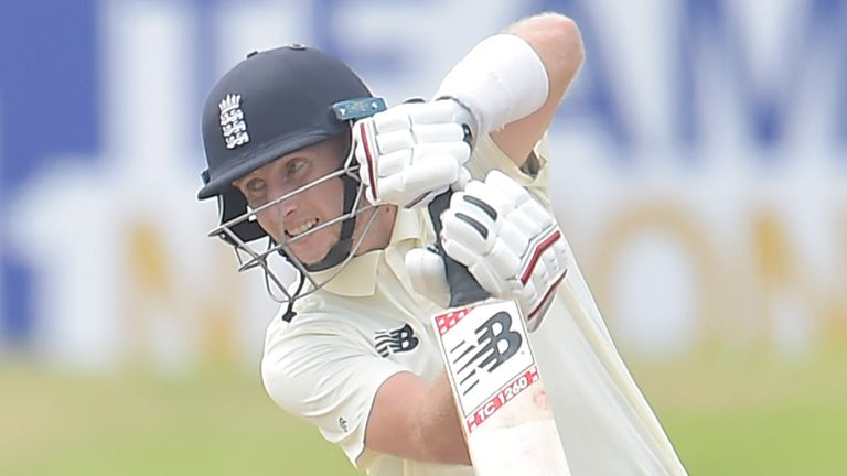 Joe Root was run out for one as England stuttered in their run chase of 74