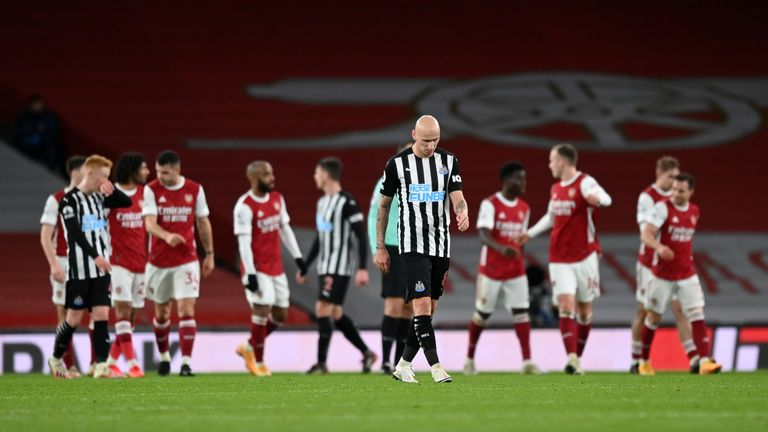 Nine games without a win, there is currently no hiding place for Newcastle