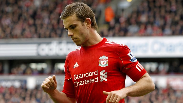 Soccer - Barclays Premier League - Liverpool v Arsenal - Anfield Jordan Henderson, Liverpool. 3 March 2012