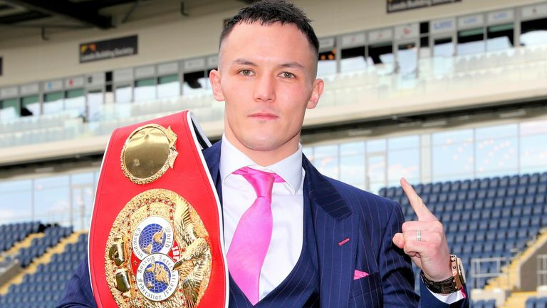 Josh Warrington is targeting a new world featherweight title
