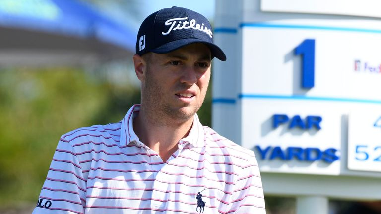 Justin Thomas is still reeling from his 'terrible judgement call'