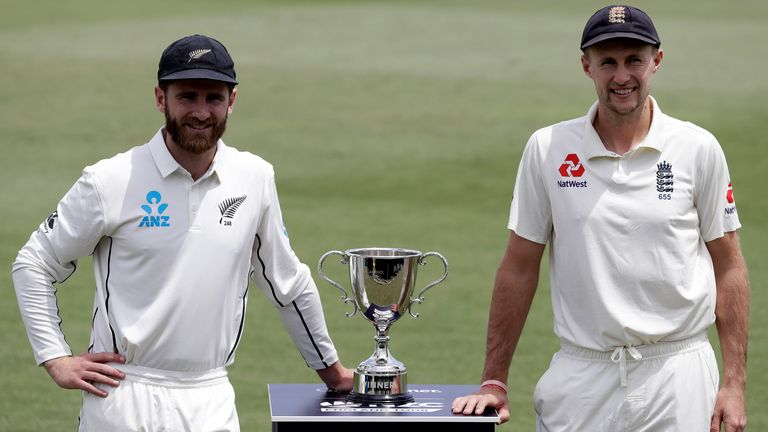 England will face New Zealand in two Test matches in June, one at Lord's and another at Edgbaston