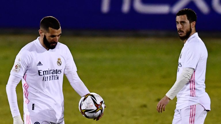 Real Madrid were knocked out of the Copa Del Rey having been beaten in the Spanish Super Cup by Athletic Bilbao last week
