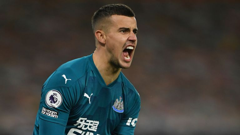 Darlow has been tipped for an England call-up