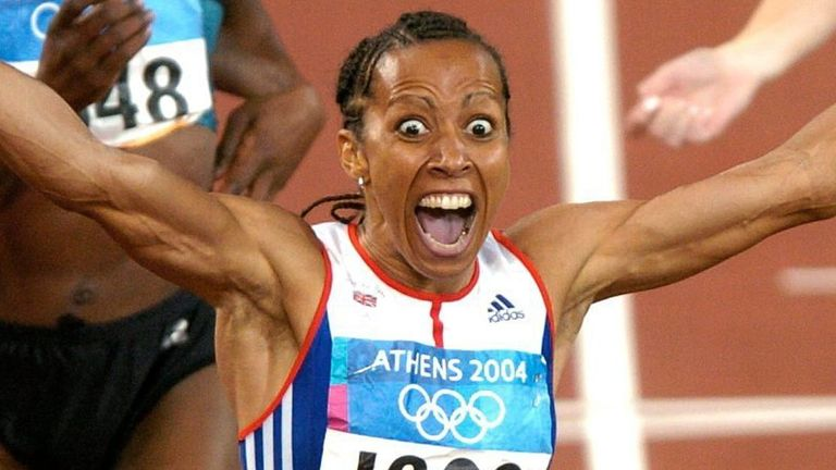 After all the personal pain Holmes went on to win the women's 800m and 1500m at the 2004 Olympic Games in Athens