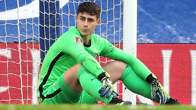 Thomas Tuchel has promised Kepa Arrizabalaga a fresh start at Chelsea