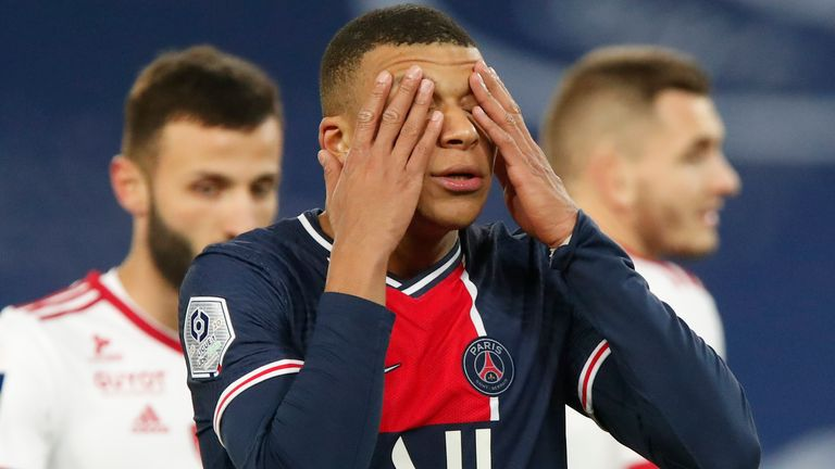 Mbappe has been previously linked with a move to Liverpool