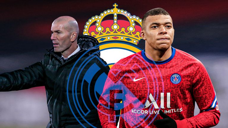 Real Madrid have again been linked in the Spanish papers with Kylian Mbappe