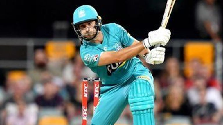 Lewis Gregory's late cameo helped Brisbane Heat to victory over Sydney Sixers