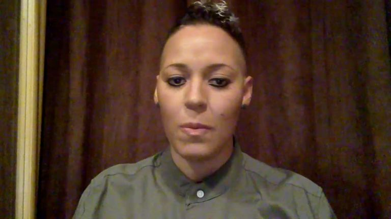 Former England international Lianne Sanderson on Sky Sports discussing the postponements of two WSL games due to coronavirus