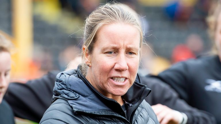 Lindsay Anfield has returned to the England staff following maternity leave