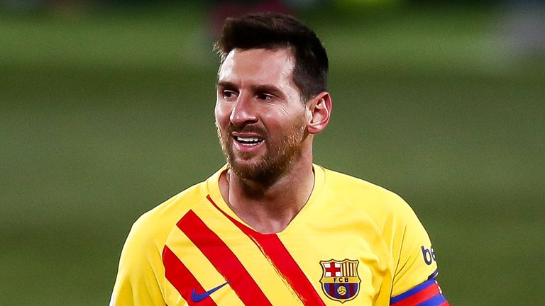 Lionel Messi has previously said he will make a decision over his Barcelona future at the end of the season