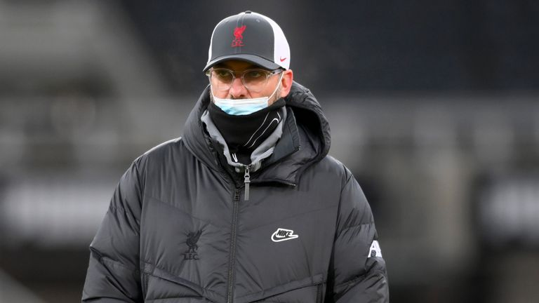 Liverpool boss Jurgen Klopp has played down his side's recent run of form - despite going four matches without a win and three without scoring