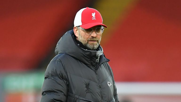 Jurgen Klopp's Liverpool side have gone three league games without scoring