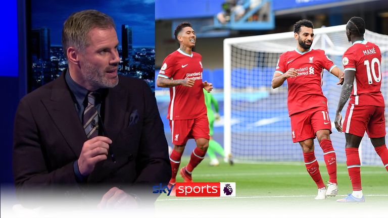 Carragher on Liverpool's front three