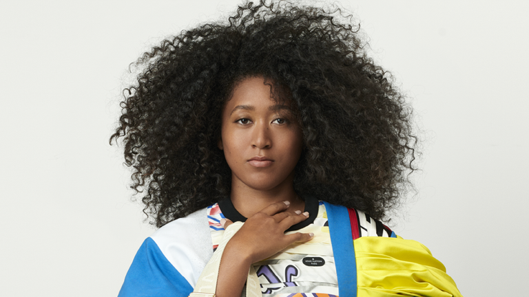 Naomi Osaka has been unveiled as the new face of Louis Vuitton