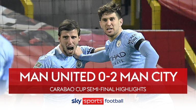 Man Utd 0-2 Man City