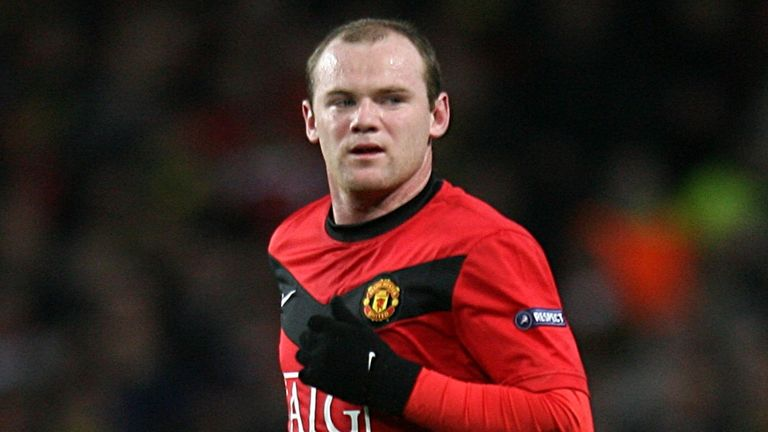 Wayne Rooney is Manchester United's leading scorer