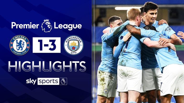 CHELSEA 1-3 MANCHESTER CITY