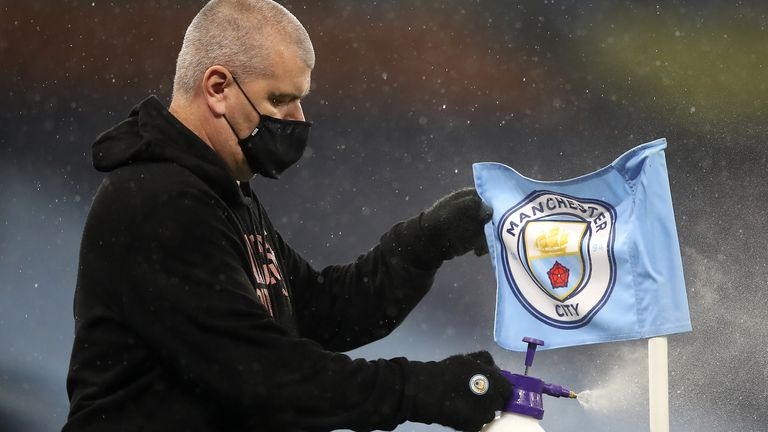 Manchester City are among the Premier League sides to have suffered multiple Covid-19 cases so far this season